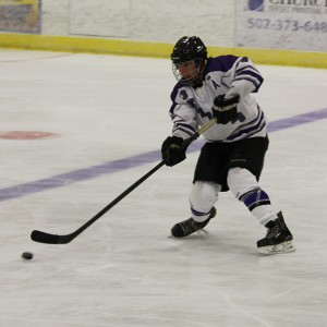 Waldorf's Jeffrey Bartel (above) provided a goal in Saturday's 4-2 conference win over Michigan Tech.
