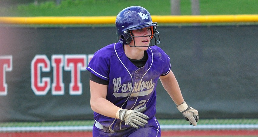 Waldorf�s Jessica Abrahamson (above) turned in two hits during Saturday�s 2-0 season-ending loss to Jamestown.