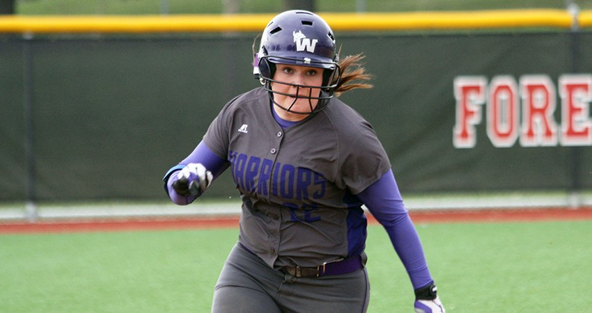 Hattie Hupke (above) was one of three Waldorf players to earn all-conference honors this season.