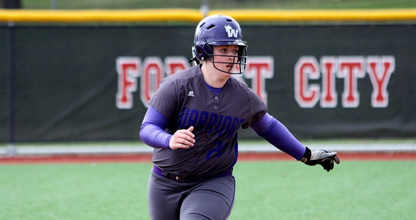 Waldorf�s Kaitlin Murphy (above) went 2-for-4 with four RBIs in Thursday�s 5-4 win over Dordt.