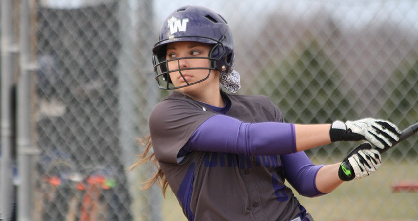 Waldorf's Maggie Hawley went 3-for-4 with two doubles and five RBIs in Friday's 18-7 win over Mayville State.