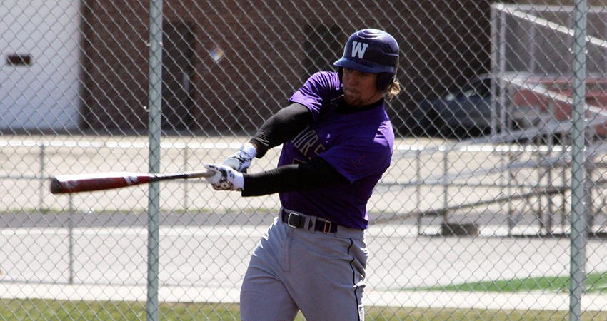 Michael Keeran (above) was one of four Waldorf players to earn all-conference recognititon this season.