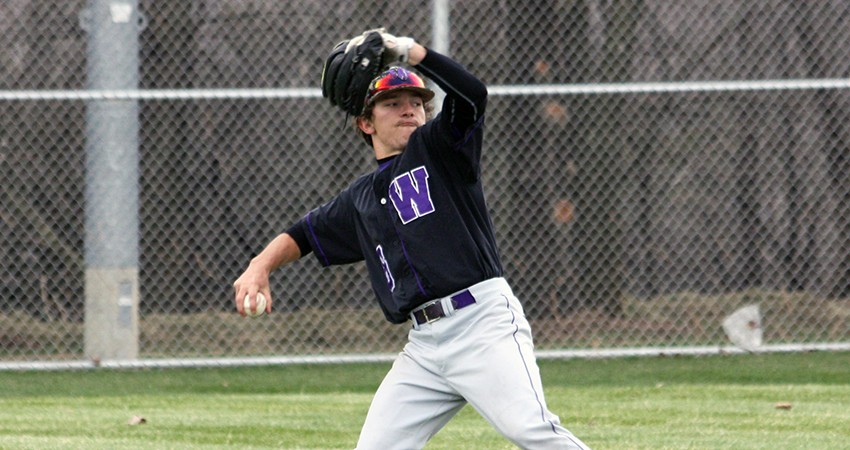 Waldorf's Bruce Mau (above) provided three hits and two RBIs in Saturday's doubleheader against Ottawa.