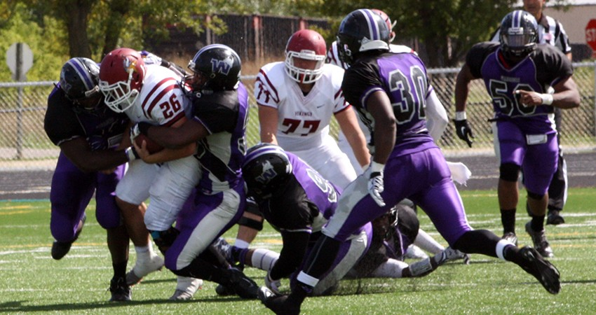 Valley City State handed Waldorf a 56-7 loss in Sunday's Dacotah Bank/NSAA Bowl game at Fargo, N.D.