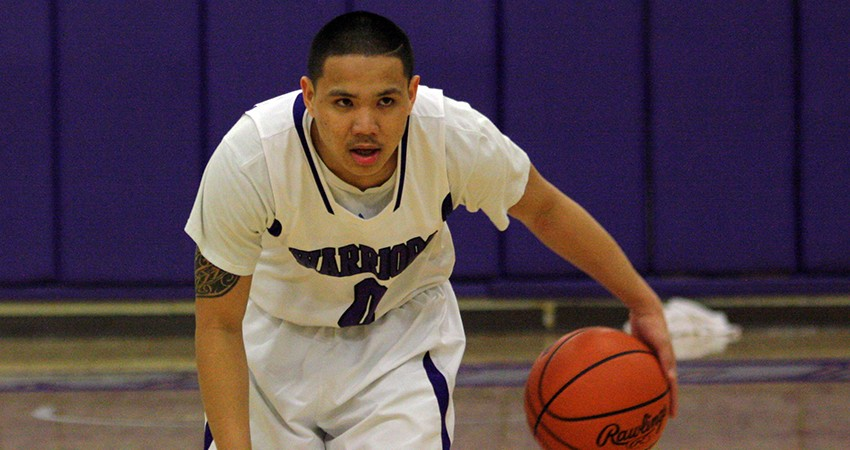 Waldorf's Brandon Silva (above) scored eight points off the bench in Friday's 93-86 win over Clarke.