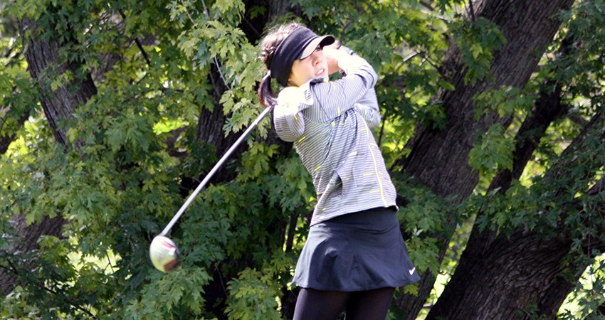 Waldorf's Fernanda Valdes (above) captured sixth in the NSAA Championships with a 72-hole score of 326.