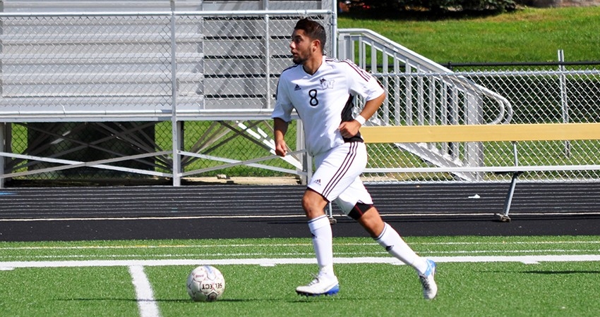Cristian Alvarez (above) delivered a goal to lift Waldorf to a 1-0 overtime win over Concordia on Tuesday.