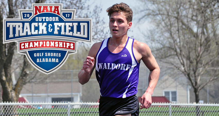 Waldorf's Aaron Ward (above) earned 11th in the marathon at outdoor nationals with a time of 2:50:42.20.