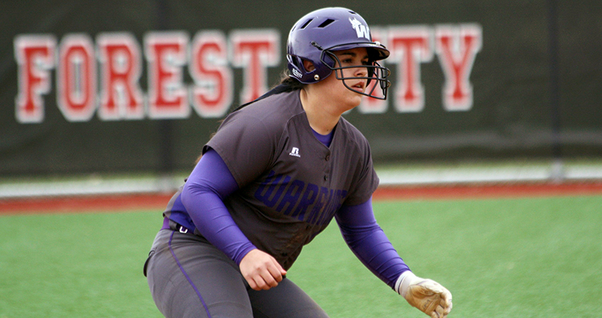 Brittani Sanchez (above) led Waldorf with three hits in Friday's 5-3 win over Mount Mercy.