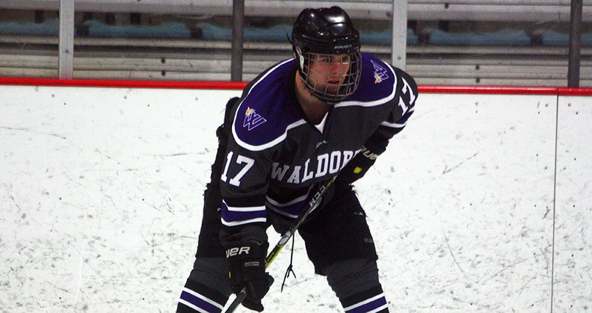 Drew Soderberg (above) led No. 8 Waldorf with two goals and three assists in Sunday's 10-2 win over St. Mary's.