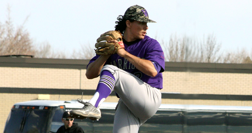 Waldorf's Trevor Bauer (above) tossed a four-hit gem in Sunday's 4-2 win over Ottawa.