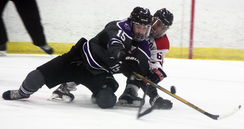 Waldorf's Matthew Liggett (above) earned first-team all-conference honors from the NCHL this season.