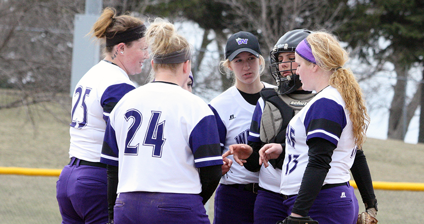 Waldorf fell to Viterbo by scores of 3-0 and 4-2 during Thursday's NSAA doubleheader.