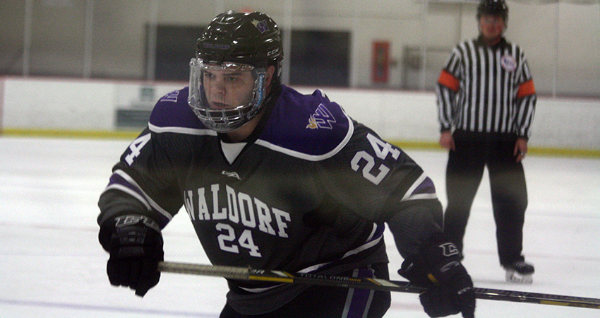 Waldorf's Eric Long (above) scored two goals in Saturday's 7-2 win over St. Mary's.