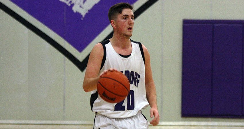 Waldorf's Shay Motter (above) provided 12 points in Friday's 75-53 win over No. 21 Viterbo.