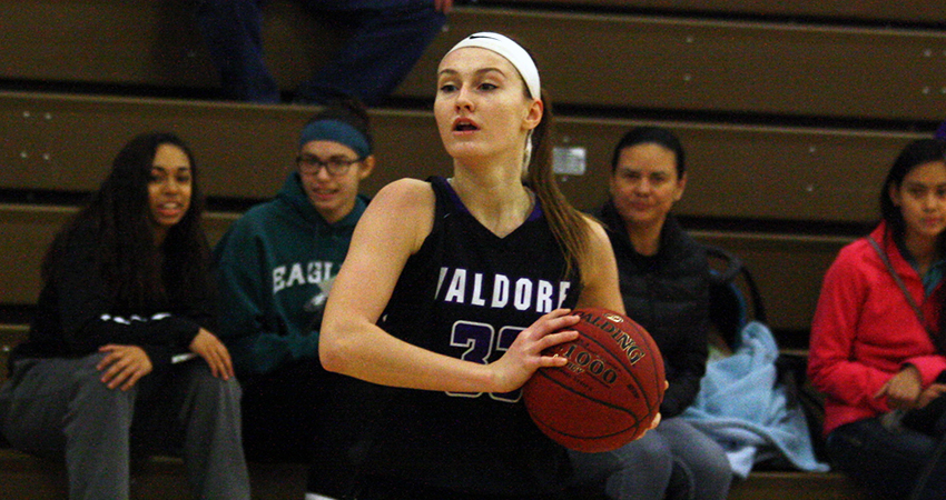 Waldorf's Meriel Leavy (above) five points and 11 rebounds in Friday's 83-53 loss to Presentation.
