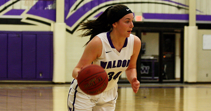 Waldorf's Georgina Wirth (above) scored nine points in Saturday's 99-51 loss to Valley City State.