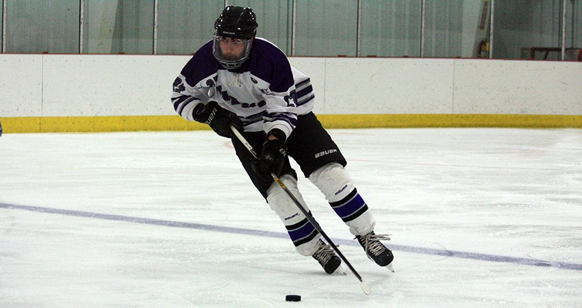 Jess Engquist (above) led Waldorf with a hat trick in Saturday's 7-4 win over No. 10 Lewis.