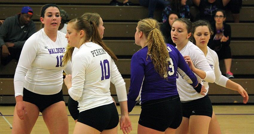 Avila held off Waldorf in four sets during Friday's season opener at Kansas City, Mo.