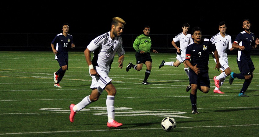 Waldorf�s Erik Soares (left) provided a goal in Tuesday�s 5-0 win over Iowa Wesleyan.