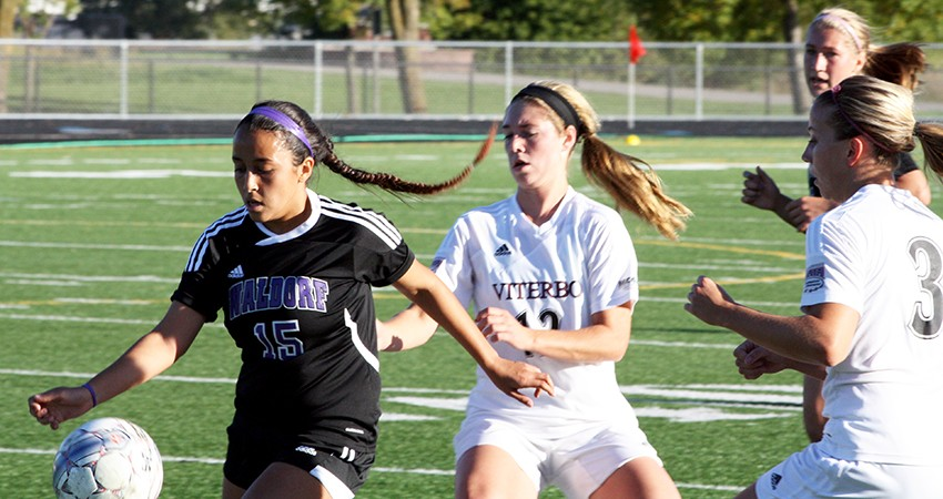 Mia Crail (left) is one of Waldorf's top scorers returning this seaosn.