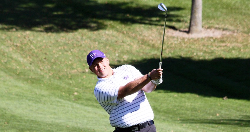 Waldorf's Thomas O'Rourke tied for 20th with a 79 during Monday's NIACC Fall Invitational.
