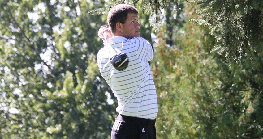 Waldorf's Chad Hein (above) tied for 56th with a 162-stroke total in this weekend's Augsburg Invitational.