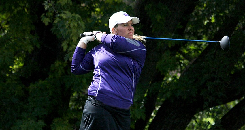 Waldorf's Maggie Peters (above) claimed second with an 83 in Sunday's Viterbo Invitational.