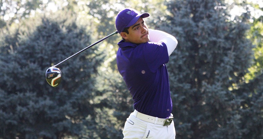 Waldorf's Zabdiel Flores (above) tied for 48th with a 156 in the Mount Mercy Fall Classic.