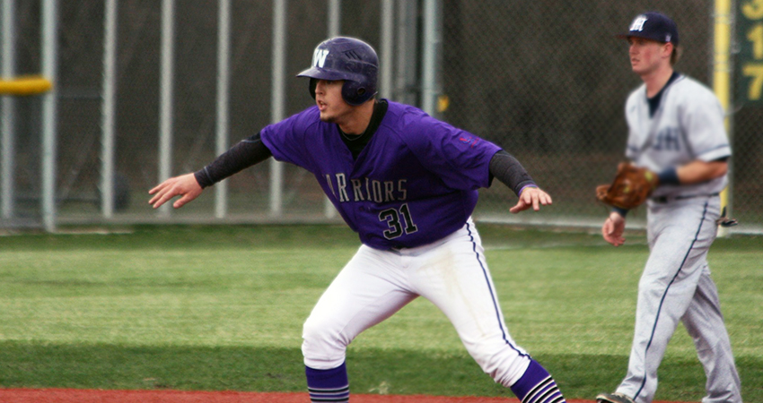 Waldorf's Ryan Villarreal (above) provided a two-run homer and an RBI double in Saturday's doubleheader.
