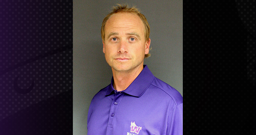 On Monday, Waldorf announced that Josh Littrell (above) has been named the new head coach.