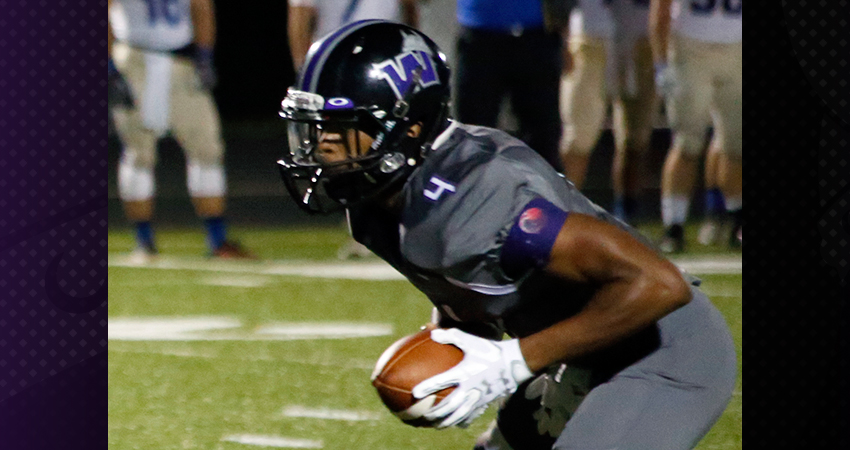 Waldorf's Hilton Joseph (above) rushed for three touchdowns in Saturday's 28-18 loss to No. 13 Kansas Wesleyan.