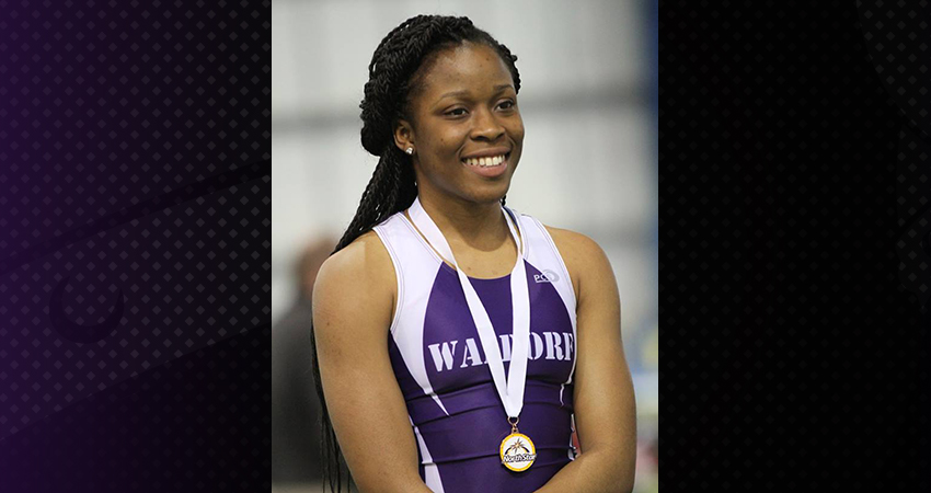 Waldorf's Markai Wotoe (above) qualified for the natoinal indoor meet in the long jump on Saturday.