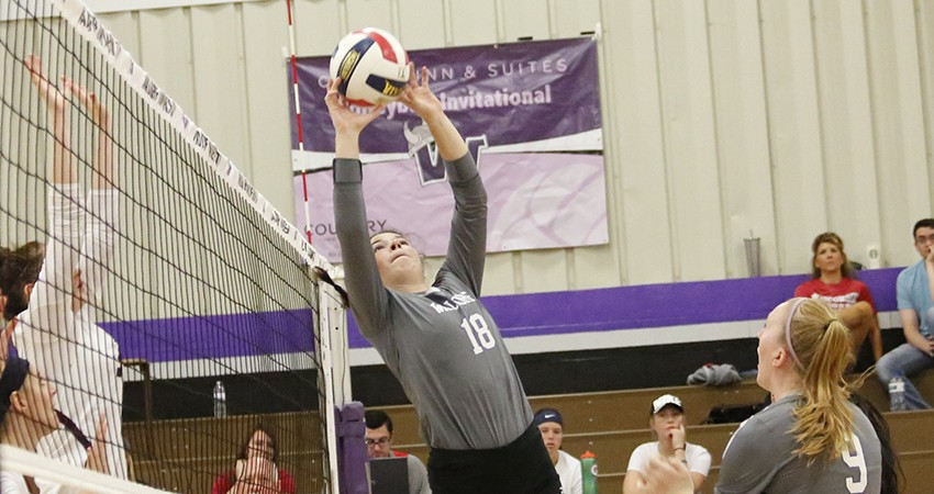 Waldorf�s Elisabeth Tramm (above) turned in 13 assists during Saturday�s NSAA loss to Dickinson State.