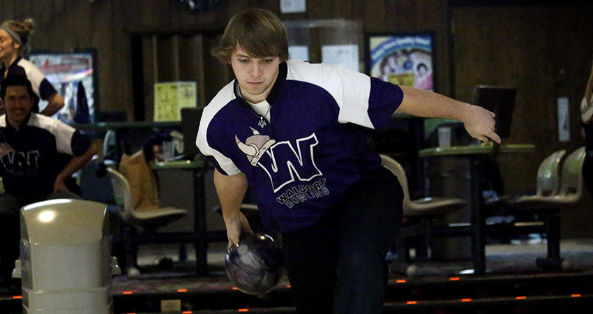 Waldorf's Nicholas Heimerman (above) owns a 192.6 average heading into this weekend's sectional tournaments.