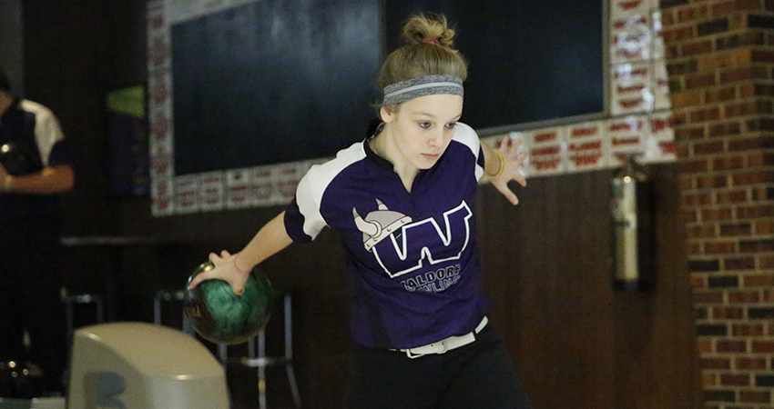 Waldorf's Olivia Kubis (above) finished 70th with a 915-pin total in the Las Vegas Collegiate Shoot-Out.
