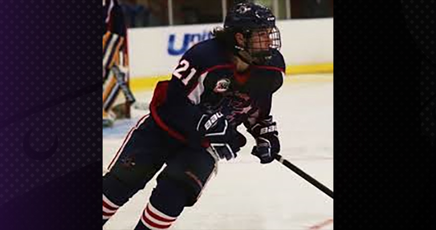 Goffstown, N.H. forward Ian Gately (above) became Waldor'fs first 2018-19 recruit on April 21.
