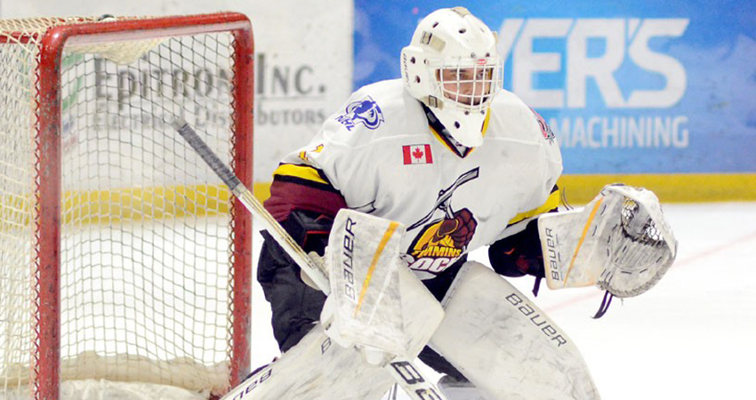 Mission, British Columbia goaltender Jeffrey Veitch (above) signed with Waldorf last Tuesday.